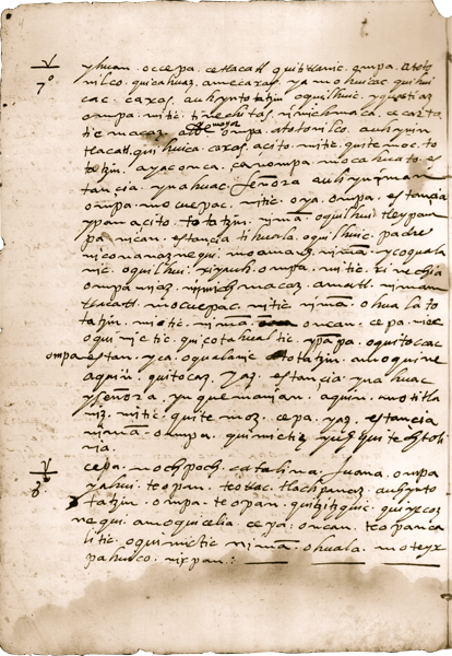 Jalostotitlan (Jalisco), 1611: Petition to Remove Priest